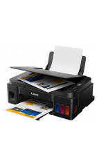 МФУ Canon G2411 СНПЧ,принтер/сканер/копир, A4, печать термическая струйная цветная, 4-цветная, 8.8 изобр./мин ч/б, 5 изобр./мин цветн., 4800x1200 dpi, подача: 100 лист., USB, печать фотографий, ЖК-панель