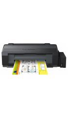 Принтер EPSON L1300, A3, печать пьезоэлектрическая струйная цветная, 4-цветная, 15 стр/мин ч/б, 5.5 стр/мин цветн., 5760x1440 dpi, подача: 100 лист., вывод: 50 лист., USB