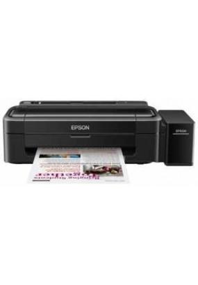 Принтер EPSON L132, A4, печать пьезоэлектрическая струйная цветная, 4-цветная, 27 стр/мин ч/б, 15 стр/мин цветн., 5760x1440 dpi, подача: 100 лист., USB