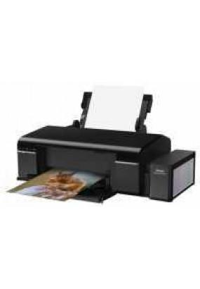 Принтер EPSON L805, A4, печать пьезоэлектрическая струйная цветная, 6-цветная, 37 стр/мин ч/б, 38 стр/мин цветн., 5760x1440 dpi, подача: 120 лист., вывод: 50 лист., USB, Wi-Fi