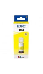 Чернила Epson 103Y C13T00S44A желтый (65мл) для Epson L3100/3110/3150