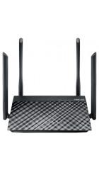 ASUS RT-AC1200, Dual-band Wi-Fi Router, 1167Mbps, 2.4GHz+5.1GHz, 802.11ac+4xLAN RG45 10/100+1xWAN 10/100+1xUSB2.0) 4x 5dBi ext Antenna