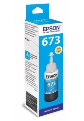 Чернила Epson L800/L1800/L810/L850 (О) C13T67324A, Cyan, 70ml