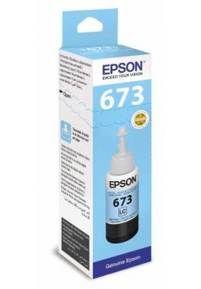 Чернила Epson L800/L1800/L810/L850 (О) C13T67354A, Light Cyan, 70ml
