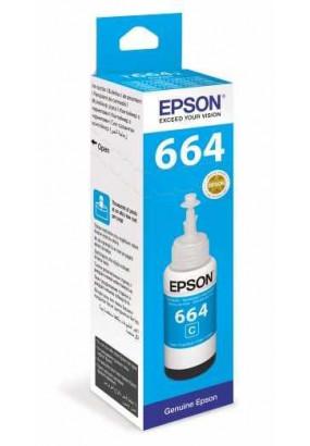 Чернила Epson L100/110/200/210/300/355/550/555 (O) C13T66424A, Cyan, 70ml