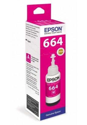Чернила Epson L100/110/200/210/300/355/550/555 (O) C13T66434A, Magenta, 70ml