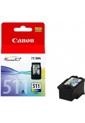 Картридж CL-511 color для CANON  iP2700/MP240/250/252/260/270/272/480/490 244стр. (2972B001/2972B007)