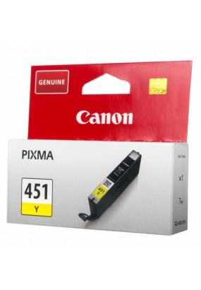 Картридж CLI-451Y 6526B001 желтый для Canon Pixma iP7240/MG6340/MG5440