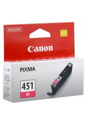 Картридж CLI-451M 6525B001 пурпурный для Canon Pixma iP7240/MG6340/MG5440