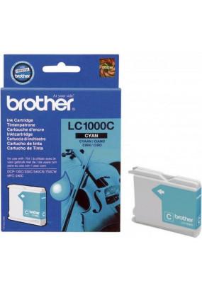 Картридж LC1000C голубой для Brother DCP-130/330