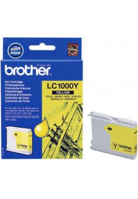 Картридж LC1000Y желтый для Brother DCP-130/330