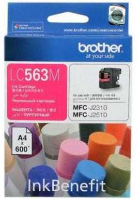 Картридж LC563 пурпурный для Brother MFC-J2310, MFC-J2510 (600 стр.)
