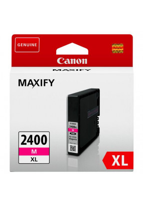 Картридж PGI-2400XL M для MAXIFY Canon iB4040, МВ5040 и МВ5340. Пурпурный. 1500 страниц.