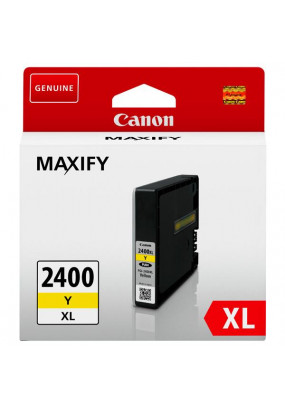 Картридж PGI-2400XL Y для MAXIFY Canon iB4040, МВ5040 и МВ5340. Желтый. 1500 страниц.