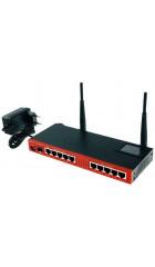 MikroTik RouterBOARD RB2011UiAS-RM Маршрутизатор c гигабитным SFP портом на базе процессора Atheros AR9344 600MHz + PoE Ethernet1