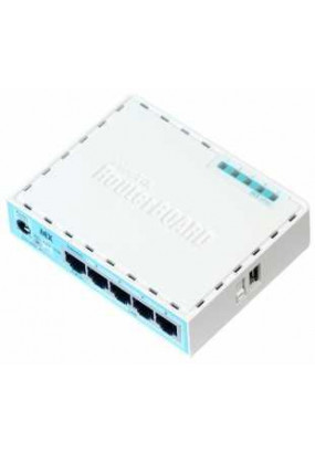 MikroTik RouterBOARD RB750GR3 (hEX) Маршрутизатор гигабитный, 5x Gigabit Ethernet, MT7621A Dual Core 880MHz CPU, 256MB RAM, USB, microSD, RouterOS L4