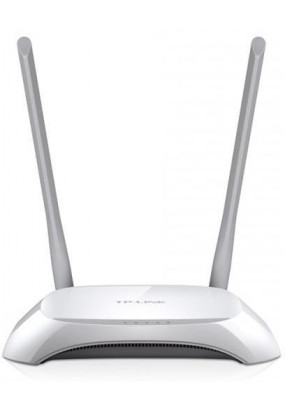 TP-LINK TL-WR840N, Wi-Fi Роутер, 300Mbps, Mediatek, 2T2R, 2.4GHz, 802.11n/g/b, 4-port Switch, 2 несъёмные антенны 5 dBi