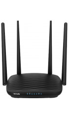 Tenda AC5, Двухдиапазонный AC1200 WiFi маршрутизатор (AC1200, LAN 3*10/100), 4*5dBi антенны