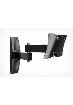 "Кронштейн для телевизора Holder LCDS-5064 черный 12""-32"" макс.30кг настенный поворот и наклон"