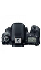 "Зеркальный фотоаппарат Canon EOS 77D черный 24.2Mpix EF-S 18-55mm f/4-5.6 IS STM 3"" 1080p Full HD SDXC Li-ion"