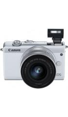 """Фотоаппарат Canon EOS M200 белый 24.1Mpix 3"""" 4K WiFi 15-45 IS STM LP-E12 (с объективом)"""