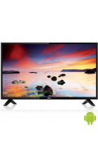 "32"" Телевизор BBK 32LEX-7143/TS2C черный 1366x768, HD READY, 50 Гц, WIFI, SMART TV, DVB-T, DVB-T2, DVB-C, USB, HDMI"