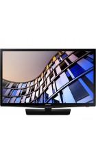 "24"" Телевизор SAMSUNG 24N4500 черный 1366x768, HD READY, 50 Гц, WI-FI, SMART TV, 20 Вт, DVB-S2, DVB-C, DVB-T2, HDMI, USB"