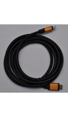 Кабель Atcom HDMI-HDMI 10.0m Ver 2.0 поддержка 4K пакет оплётка