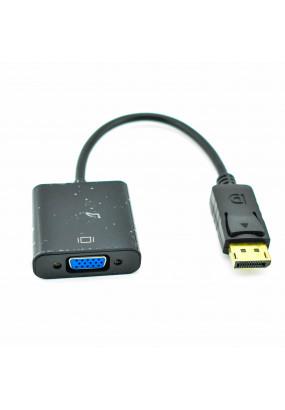 Переходник DisplayPort(male) <=> VGA(female) длина 10см