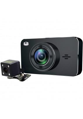 """DVR Playme Netton, 1920x1080i/30 fps, 1280x720p/30 fps, 145°/70°, MOV (H.264), LCD 3"""", G-sensor, микрофон, microSD (до 32 GB), Sony IMX323/OV9726, MStar-8328P"""