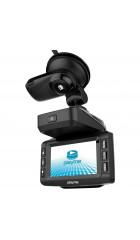 DVR PlayMe TURBO, 3 в 1: Авторег/Радар-детектор/GPS Информер, 2560x1080/30 fps/140°, 1280x720/60 fps/140°, MP4 (H.264), LCD 3,0