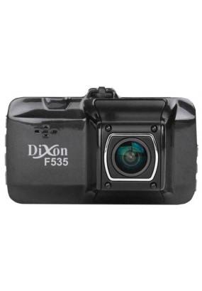 "DVR Dixon F535, 1920x1080i/25 fps, 1280x720p/30 fps, 140°, AVI (H.264), LCD 3.0"" LTPS, G-сенсор, ИК-подсветка, USB, HDMI, SD (до 32GB), металлический корпус"